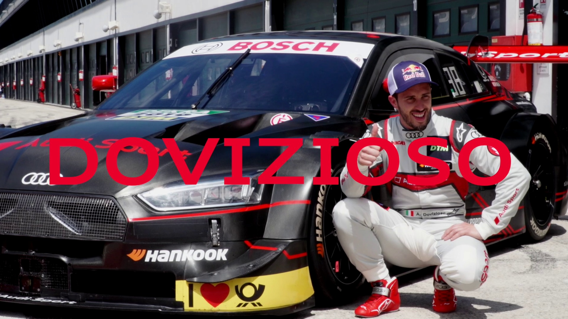 MotoGP star Dovizioso prepares for his guest start in the DTM