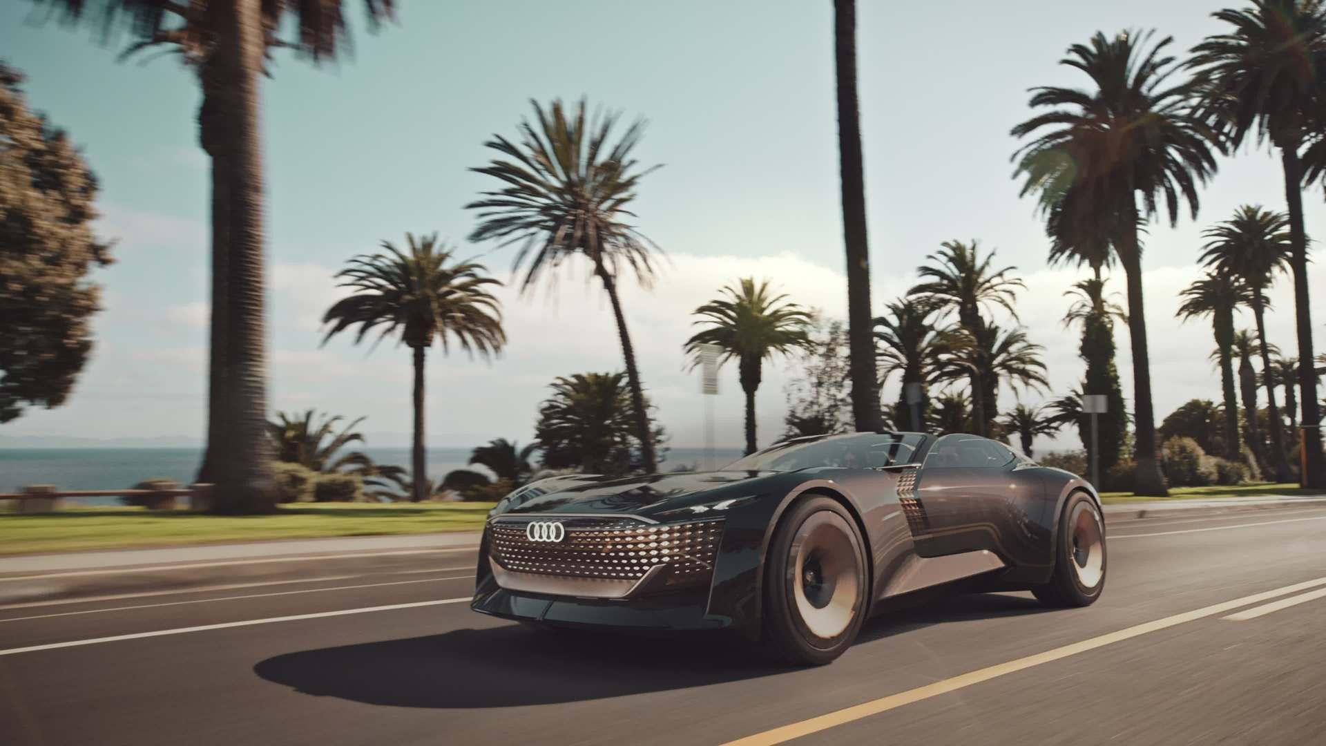 Audi skysphere concept – eine neue Ära von Luxusmobilität