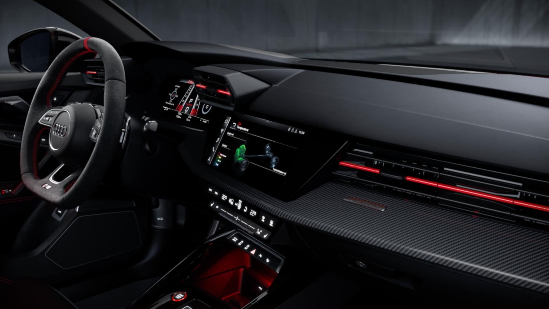 Animation: Audi RS 3 – Interieur Design