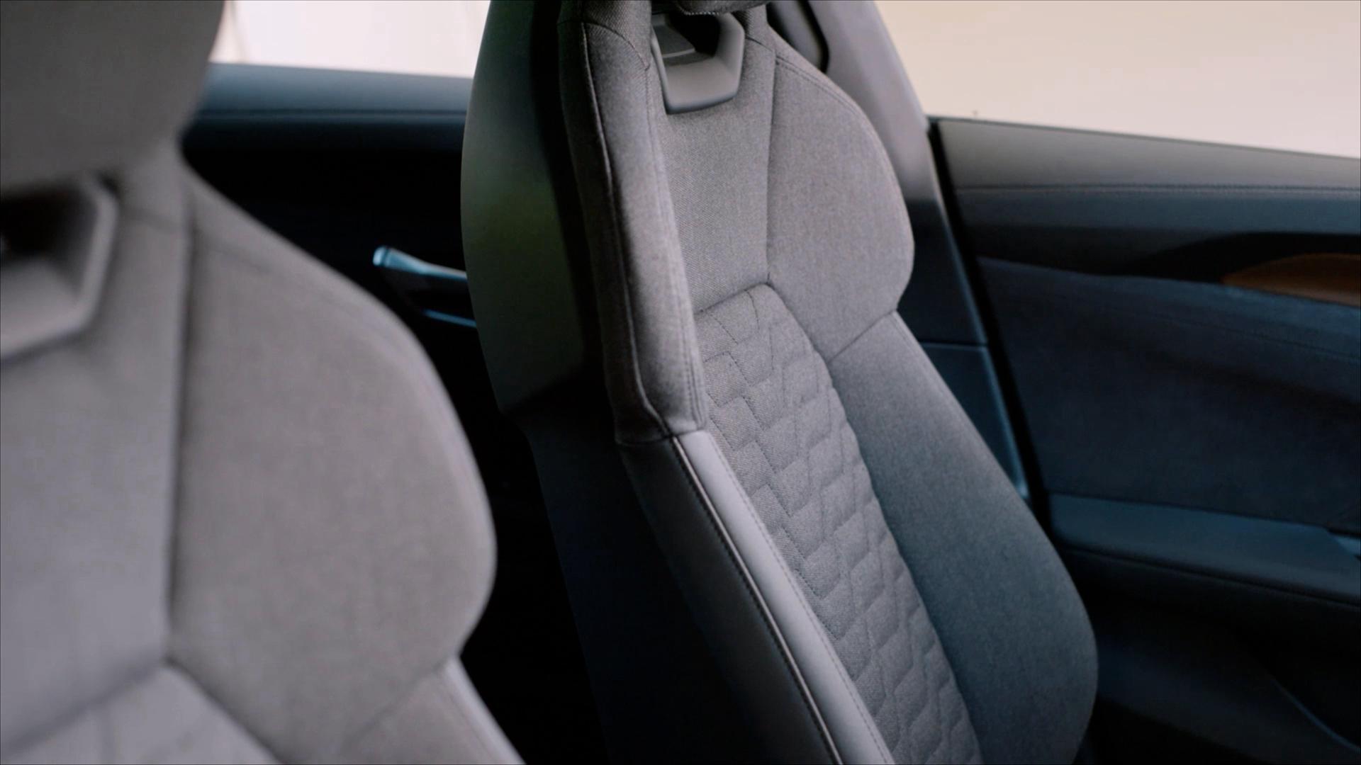 Audi e-tron GT Recycling Sitze Kaskade