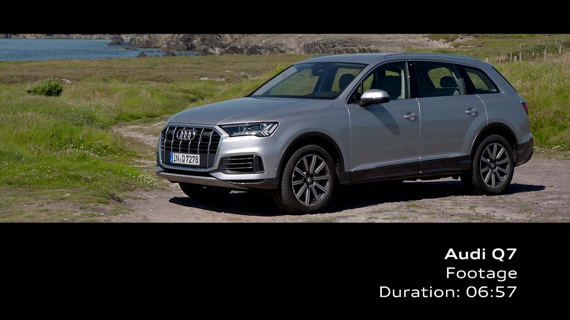 Audi Q7 Florett Silver (Footage)