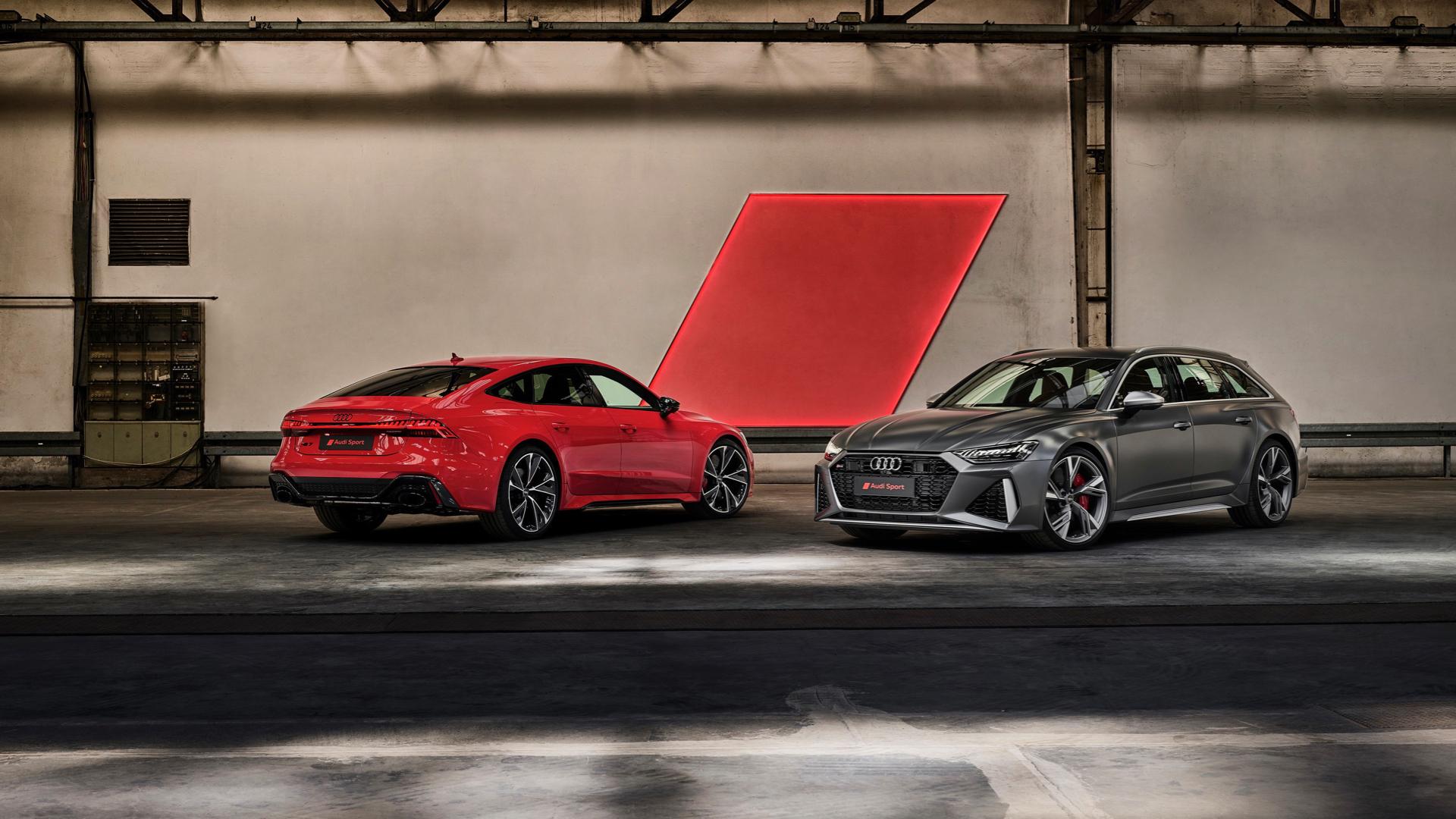 Understatement für Kenner – Audi RS 6 Avant und Audi RS 7 Sportback