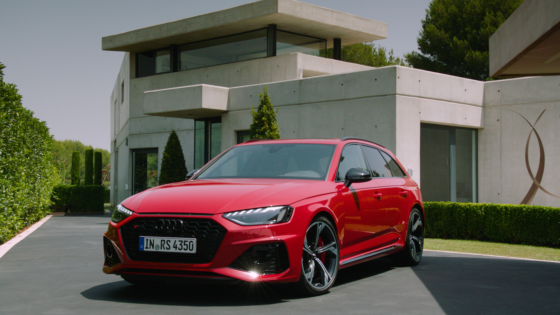 Update for the Audi RS 4 Avant (Trailer)