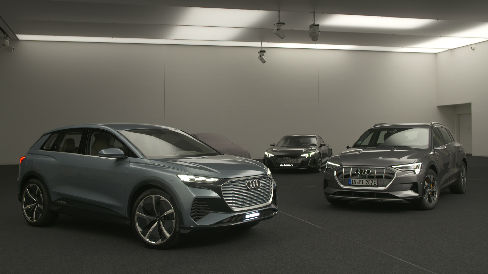 Audi BEV-Plattformen TechDay (Footage)
