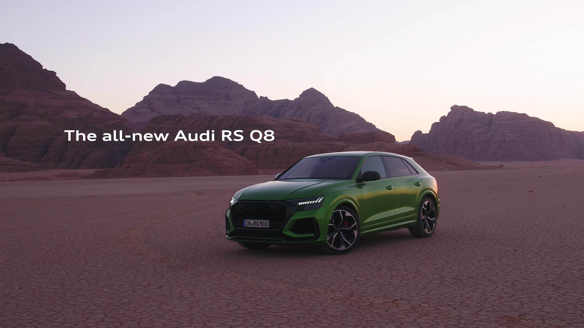 Q to the max – the Audi RS Q8