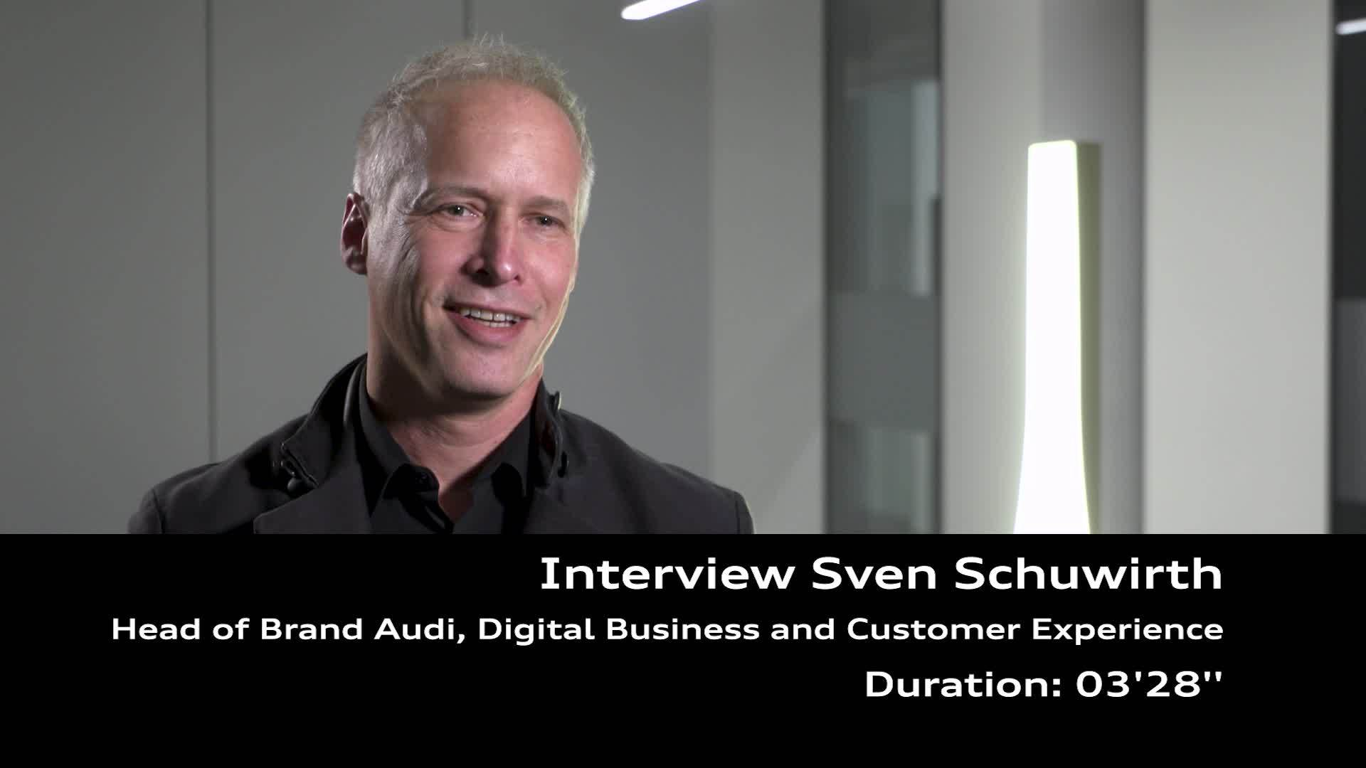 Footage Interview Sven Schuwirth about the Game Day spot