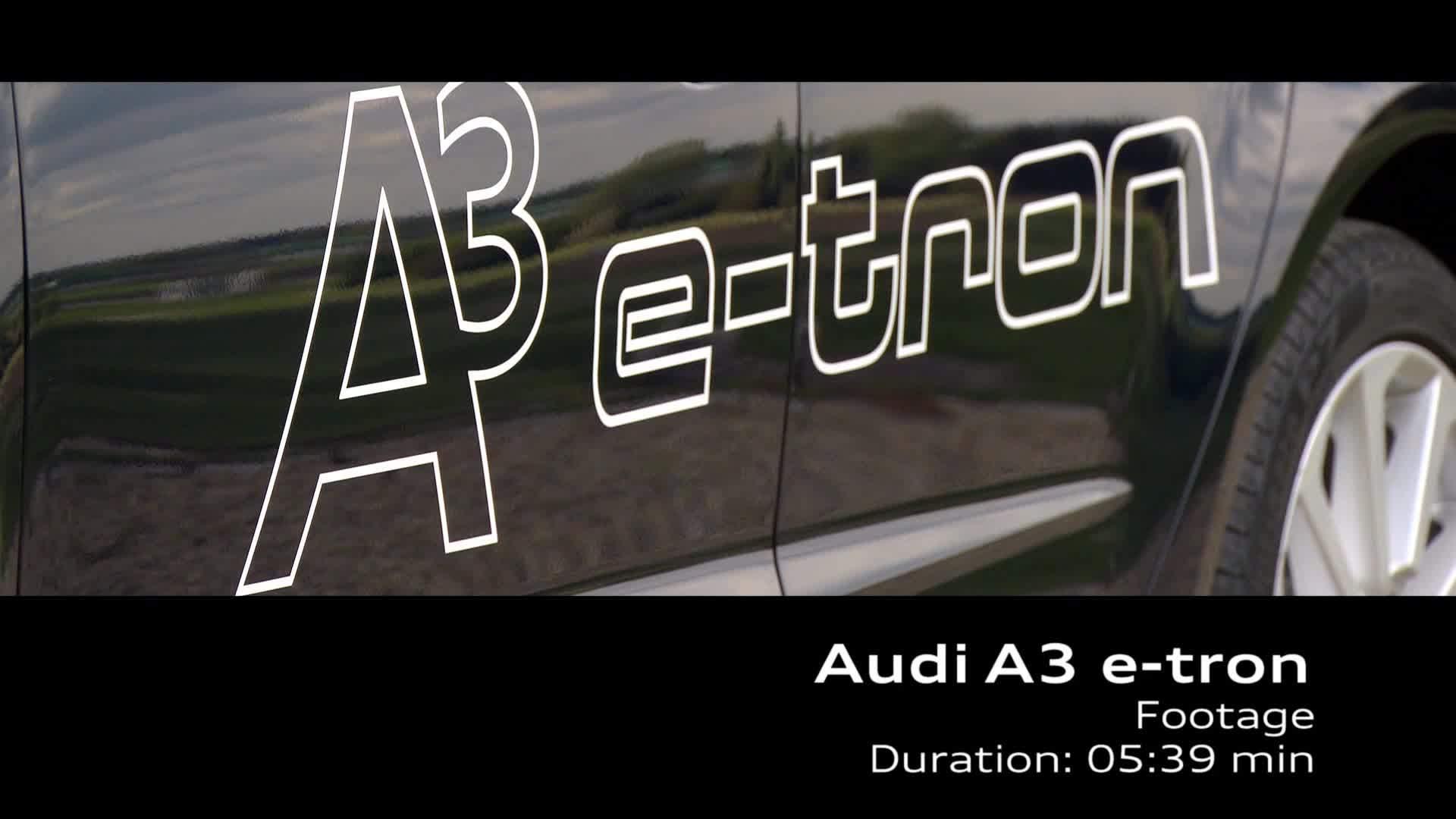 Audi A3 Sportback e-tron - Footage