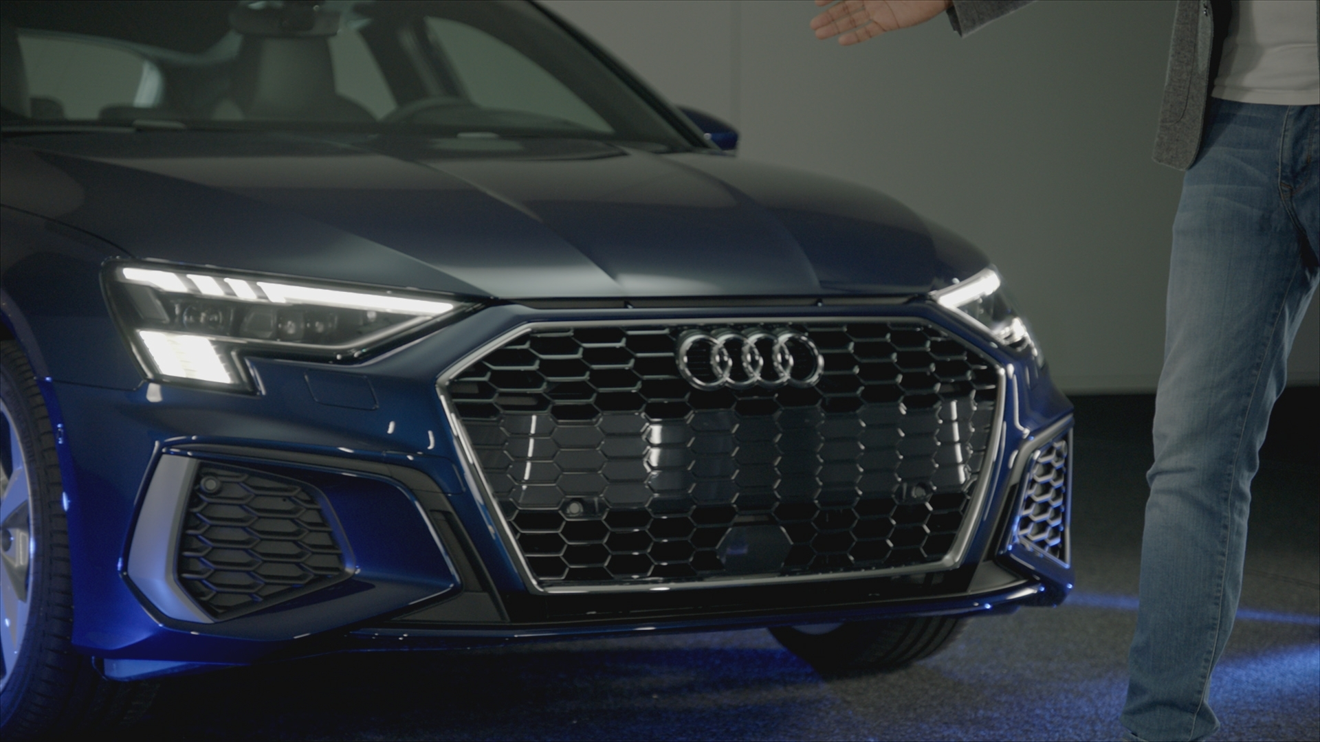 World premiere show - Audi A3 Sportback and e-tron S  prototype