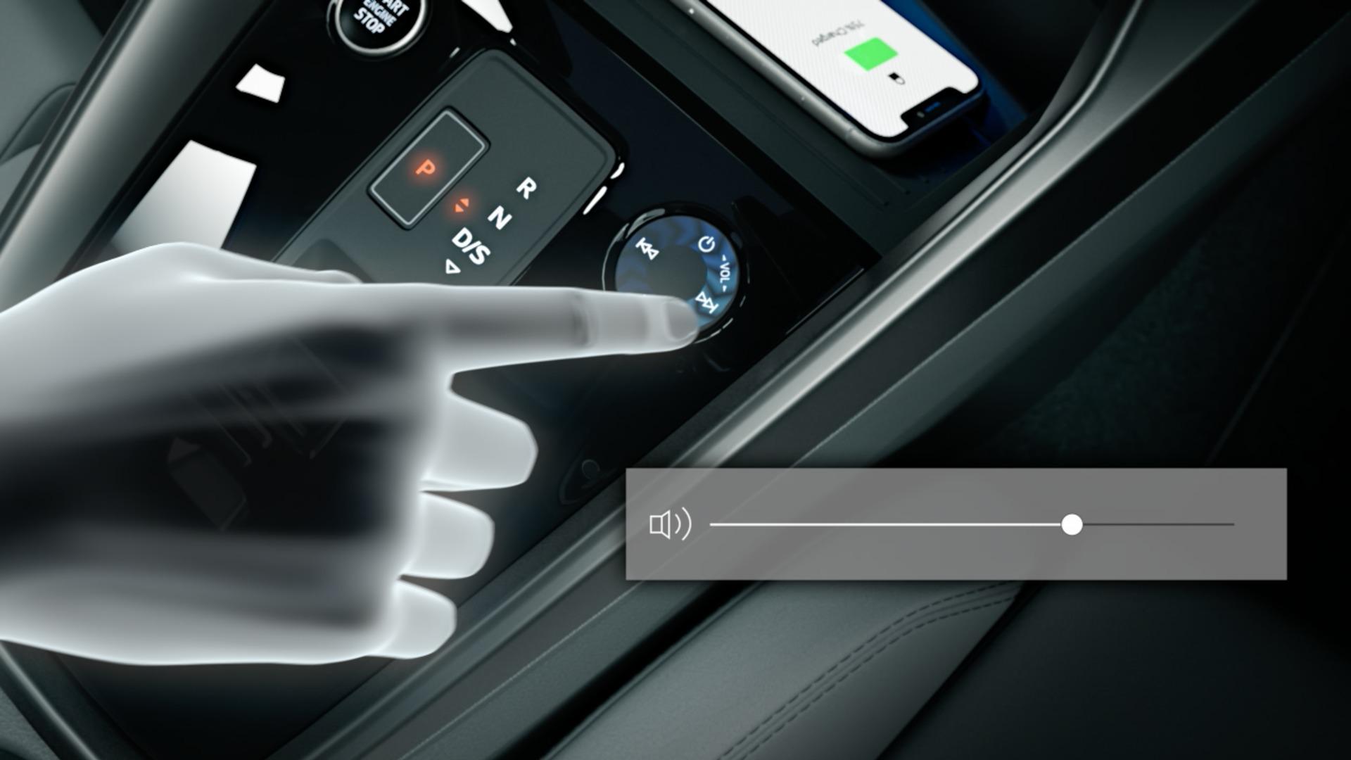 Animation: Audi A3 Sportback – Bedienerlebnis