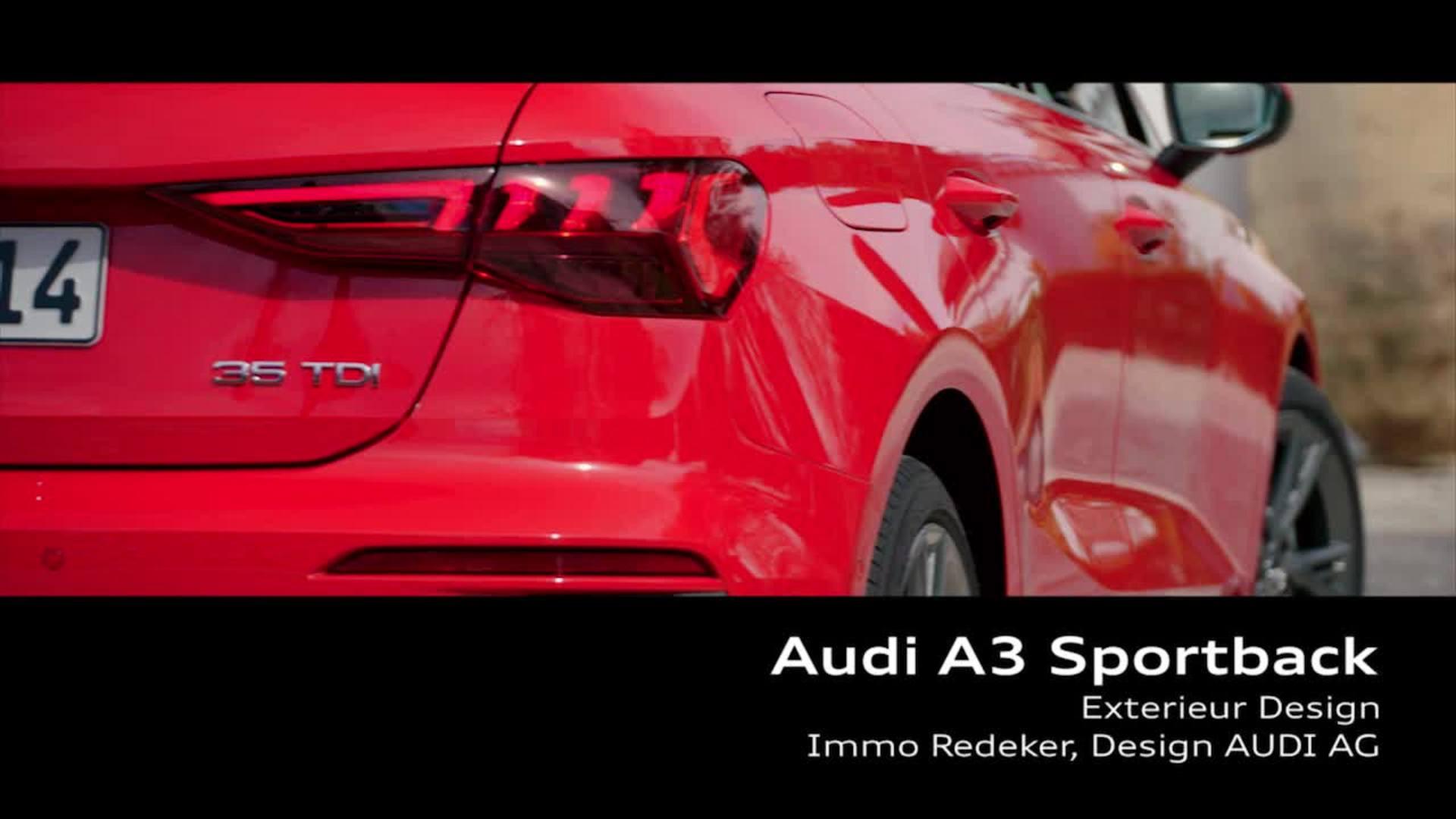 Footage: Audi A3 Sportback – Design