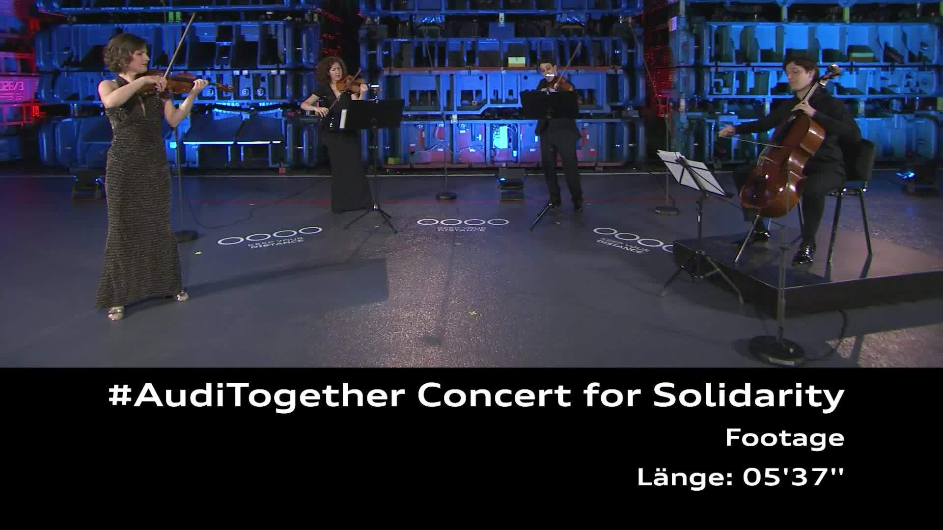 Footage: Concert for Solidarity