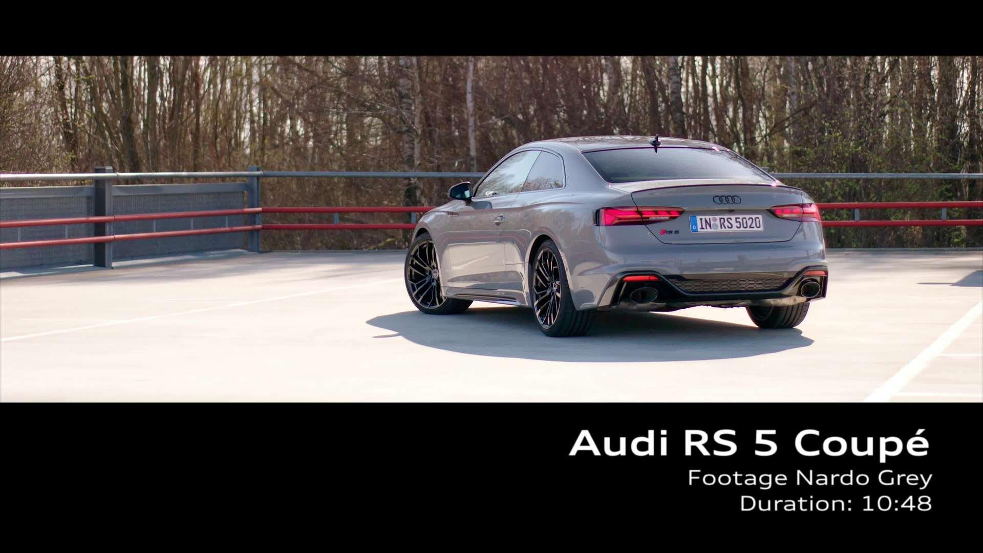 Footage: Audi RS 5 Coupé Nardograu