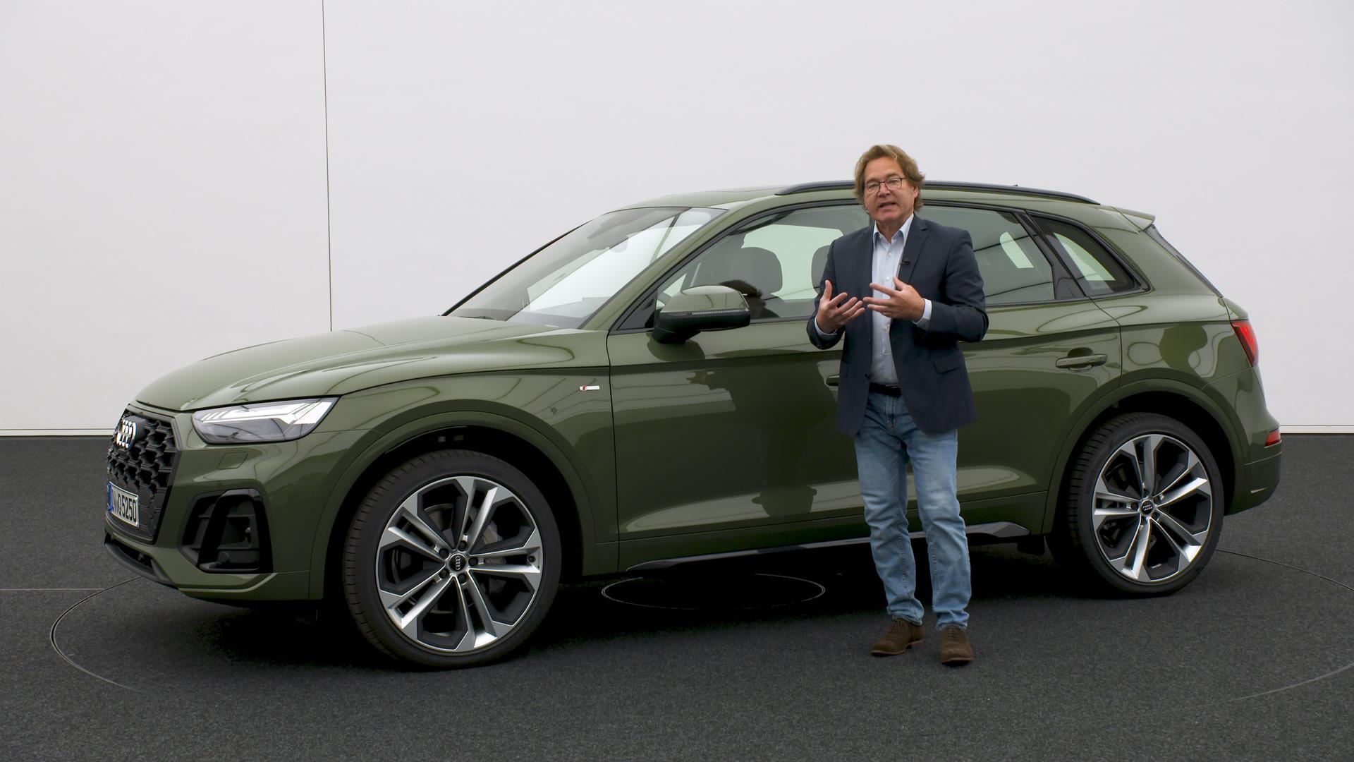 Das Design des Audi Q5