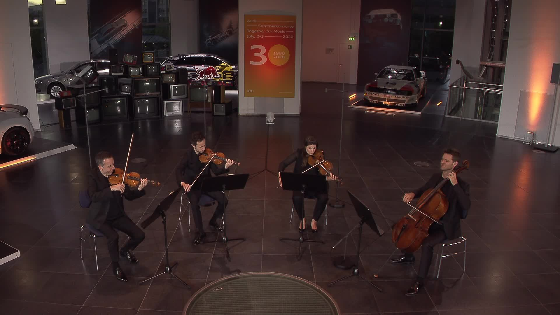 """Beethoven Around the World"" – Audi Sommerkonzerte Live mit Quatuor Ébène"