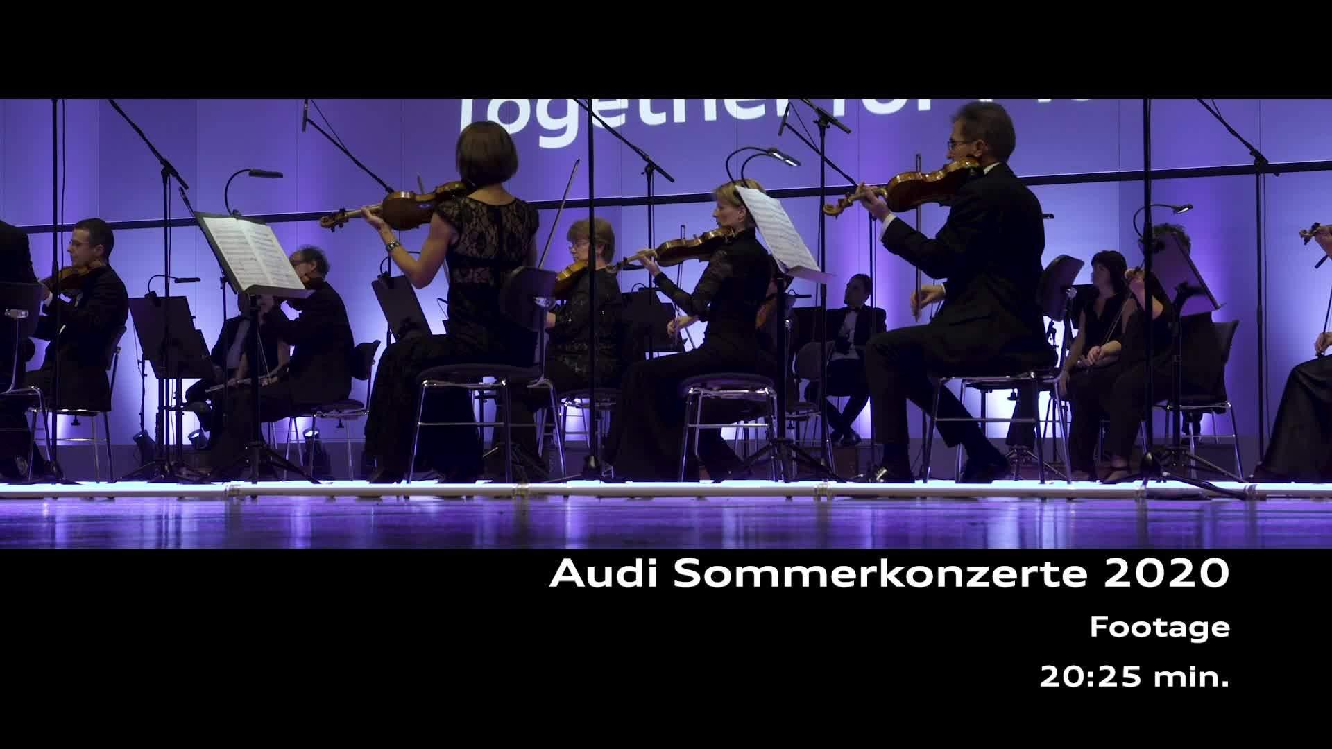 Footage der Audi Sommerkonzerte 2020