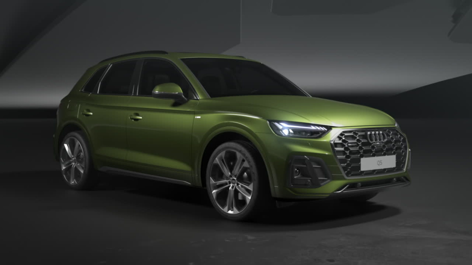 Animation: The design of the Audi Q5
