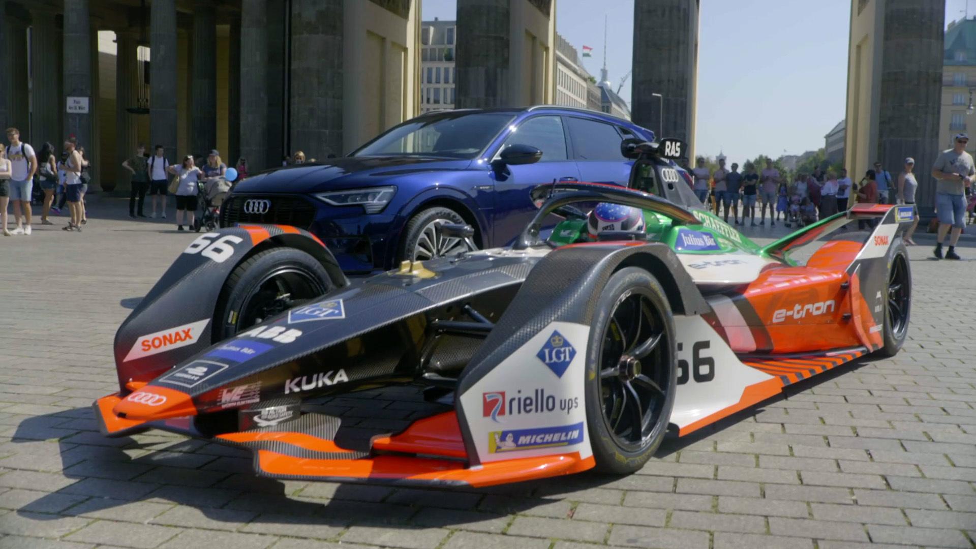 Audi Sport Formula E: Audi electrifies Berlin