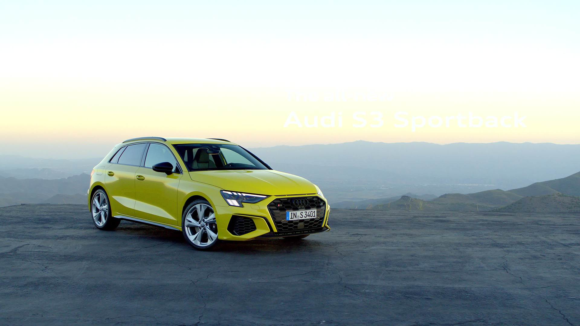 More Dynamic, More Power, More Driving Pleasure: The Audi S3 Sportback