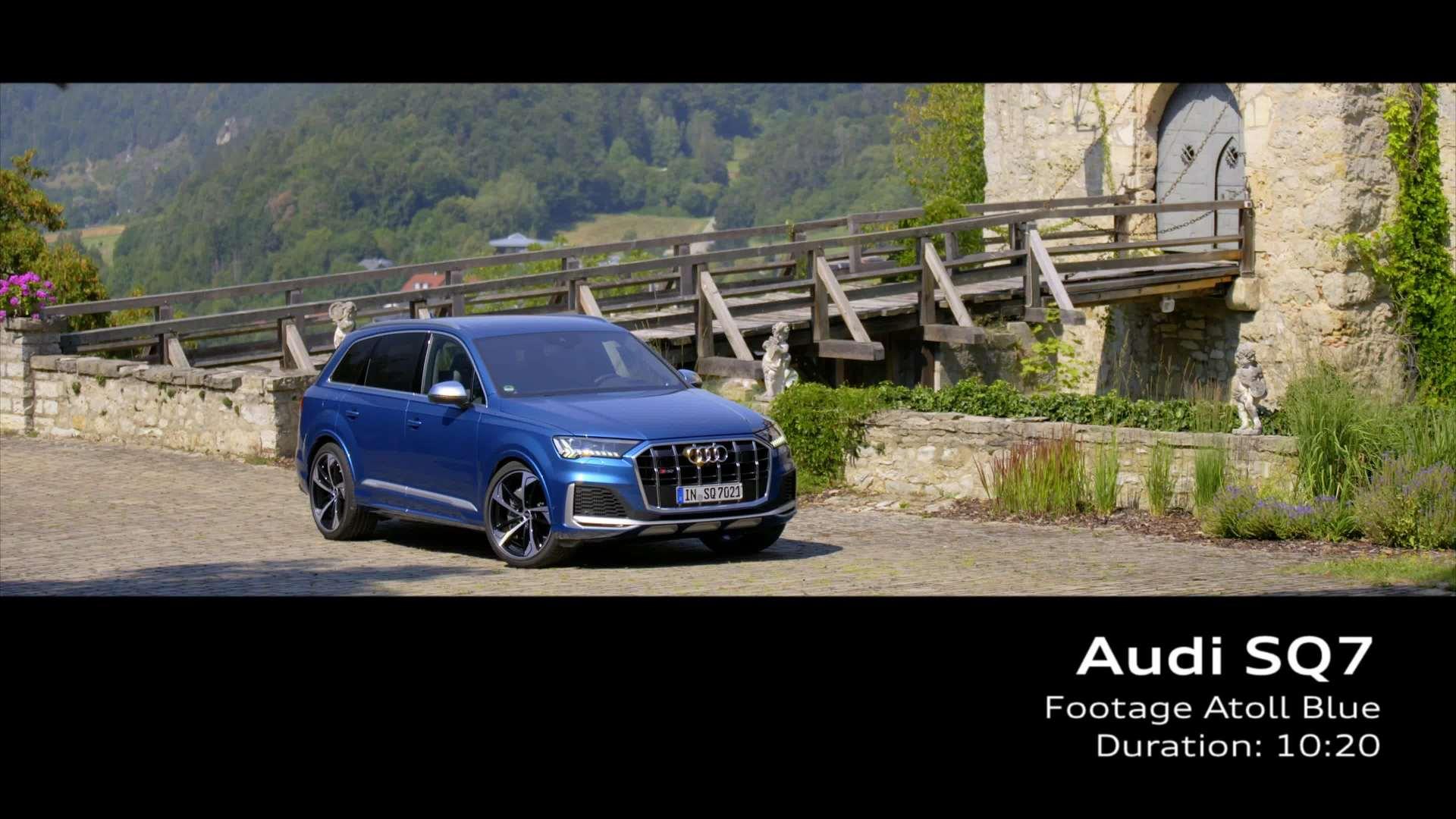 Footage: Audi SQ7