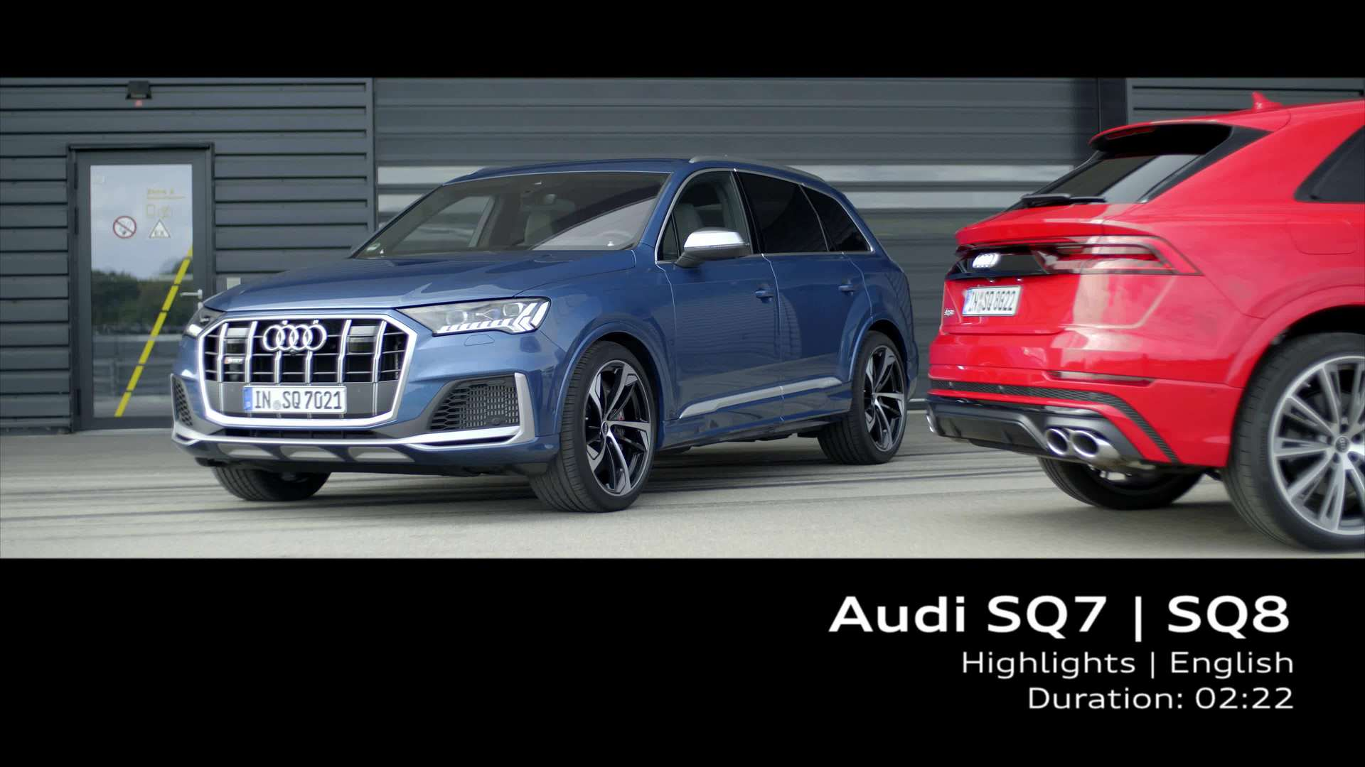 Audi SQ7 / SQ8 – Highlights