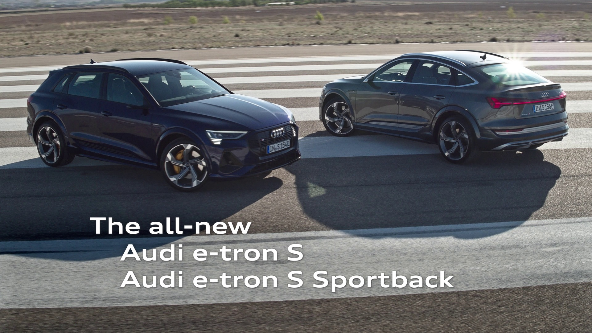 Consequently electric – the Audi e-tron S and Audi e-tron S Sportback