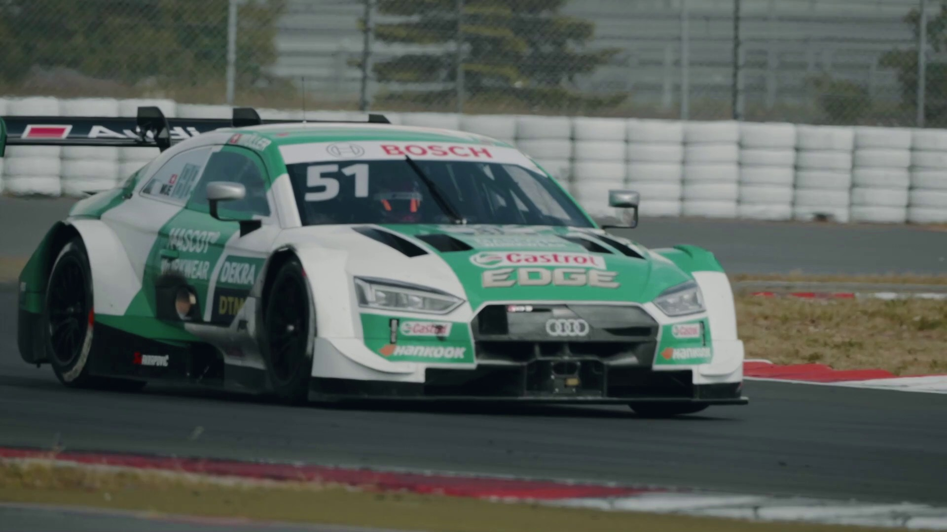 DTM 2020: Audi RS 5 DTM erstmals auf dem Grand-Prix-Kurs des Nürburgrings