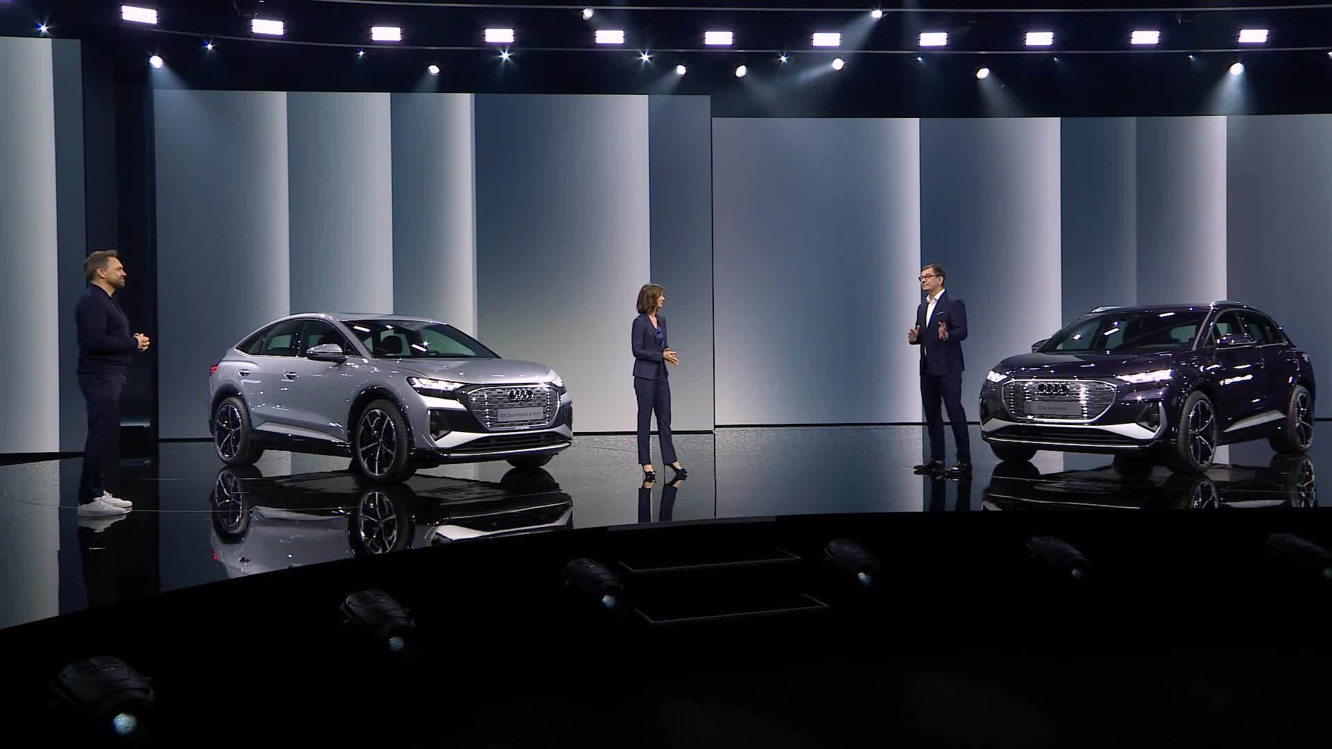 Celebration of Progress: Die Weltpremiere des Audi Q4 e-tron