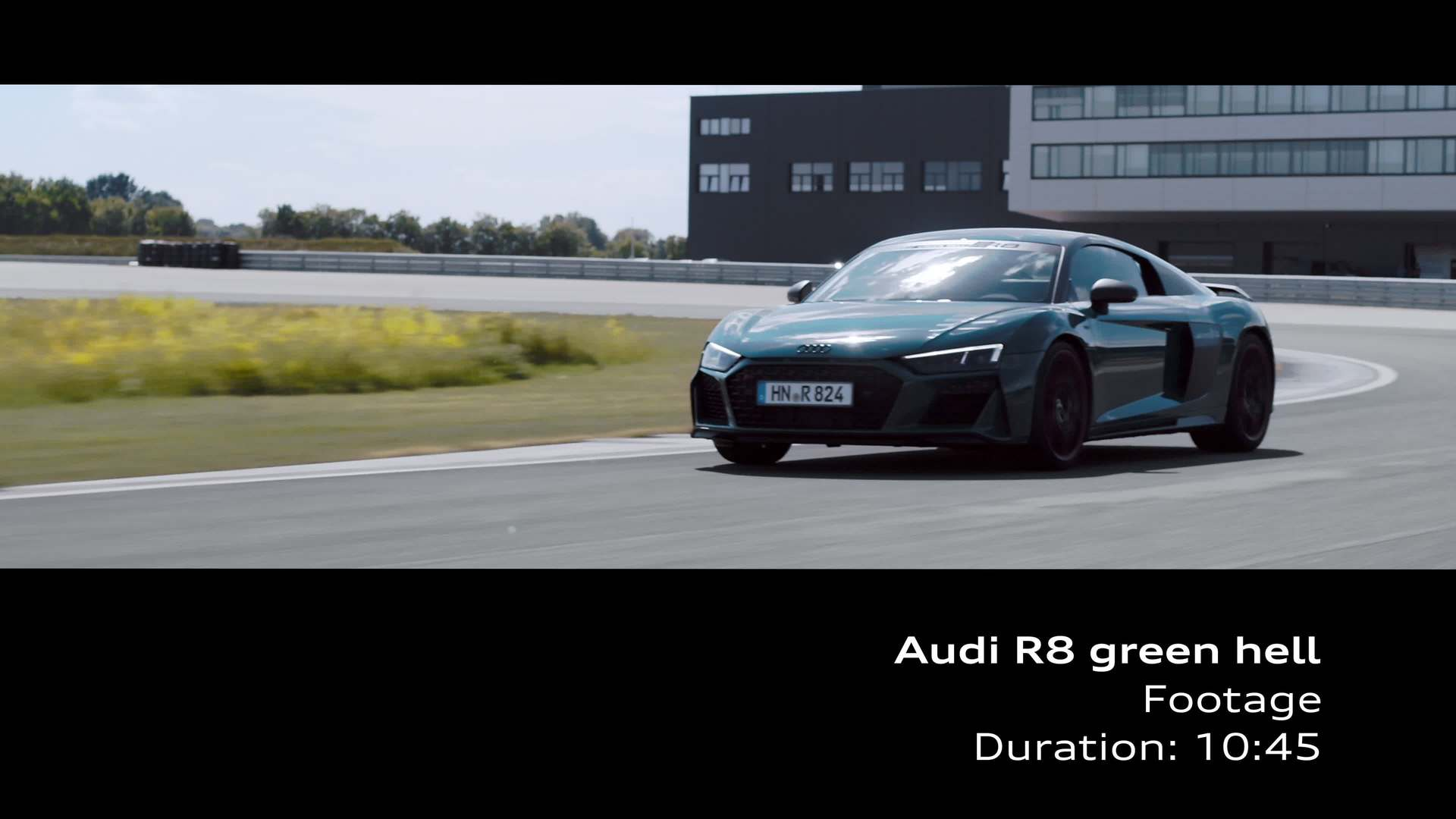 Footage: Audi R8 green hell