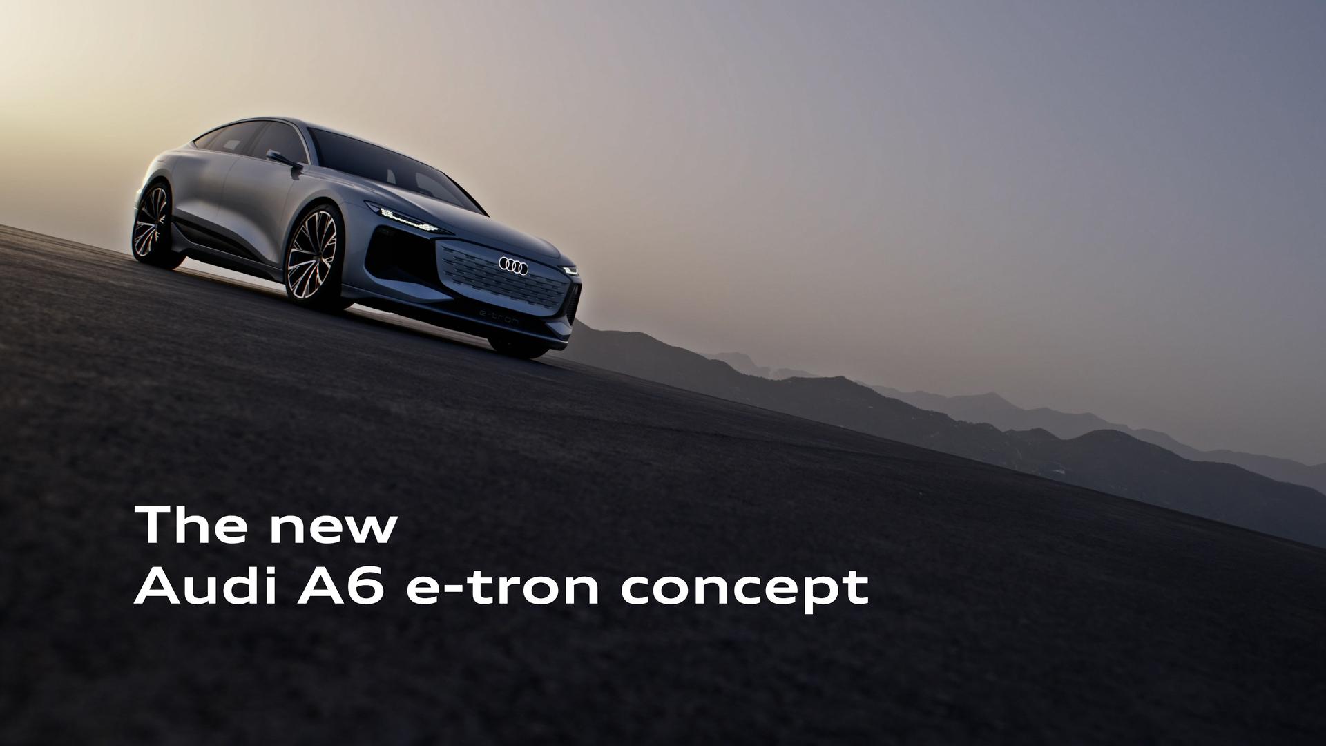 Trailer: Audi A6 e-tron concept