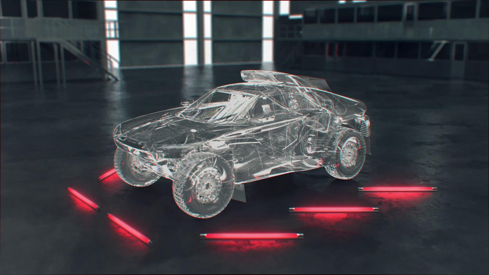 Animation: Audi RS Q e-tron