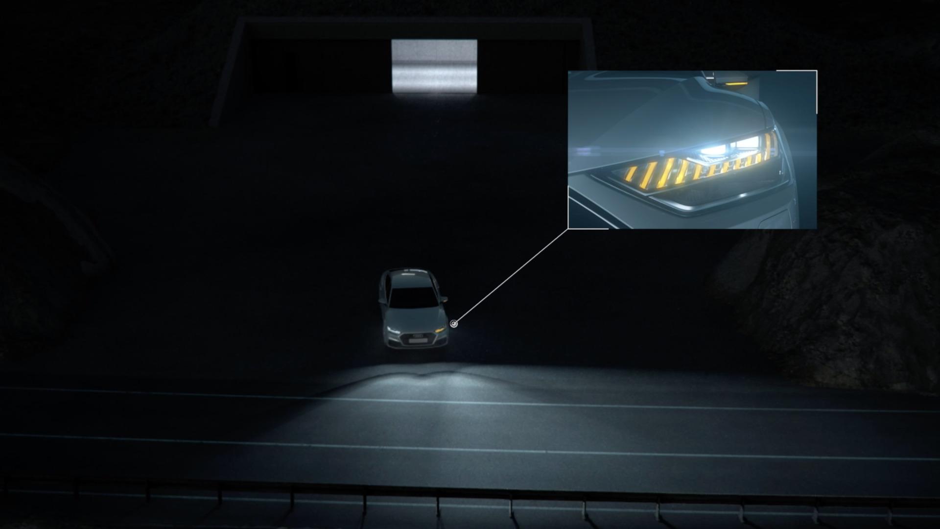 Animation: Lichttechnologien und Funktionsprinzipien